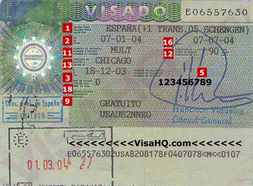 Виза в испании в москве официальный сайт